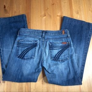 7 for all Mankind Dojo crop jeans 28 x26